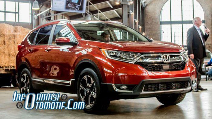 Reveiw Spesifikasi dan Harga New Honda CRV
