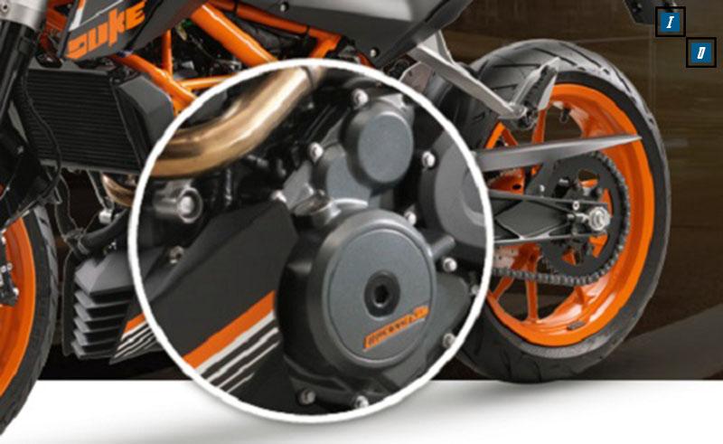 KTM Duke 250 mesin