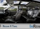 Nissan X Trail five seat interior design