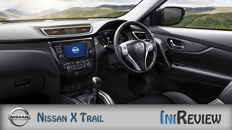 Nissan x trail interior design