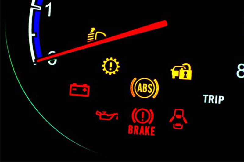lampu indikator kendaraan
