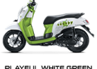 playful green scoopy new 2017 trans