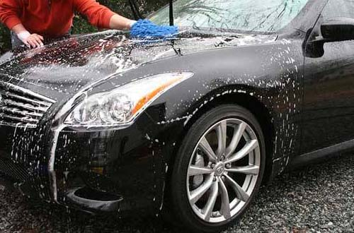 TIps mencuci mobil agar cat awer